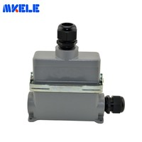 Heavy Duty Crimp Connectors MK HE 024 4D 16A Terminal Block Power Plug Heavy Duty Connectors For Spinning And Packing Machine