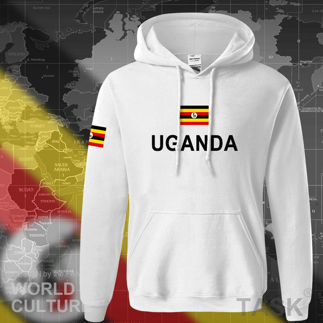 Uganda Ugandan hoodies men sweatshirt sweat new hip hop streetwear tracksuit nation clothing sporting country flag UGA Uganda 4