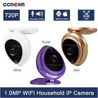 CCDCAM free ship HD 720P IP Camera MINI WIFI Wireless webcam Baby monitor ip cam Wi Fi P2P Home Security WI FI pocket camara ip