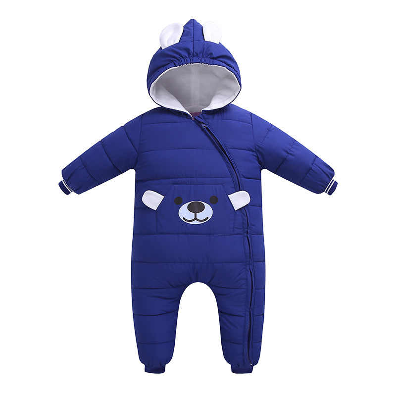 371e89f90bea Autumn Winter Newborn Infant Baby rompers boy girl Clothes Animal Style  Clothing Romper Cotton-padded