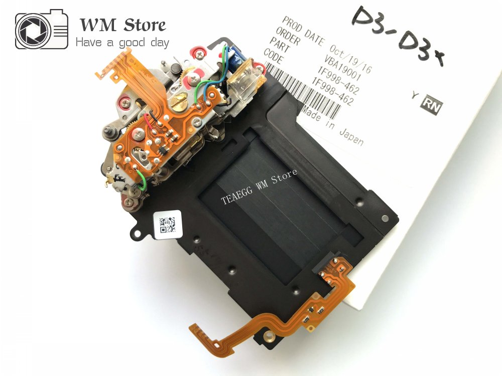 NEW For Nikon D3 D3X Shutter Unit with Blade 1F998 462 Camera Repair Part Replacement Unit