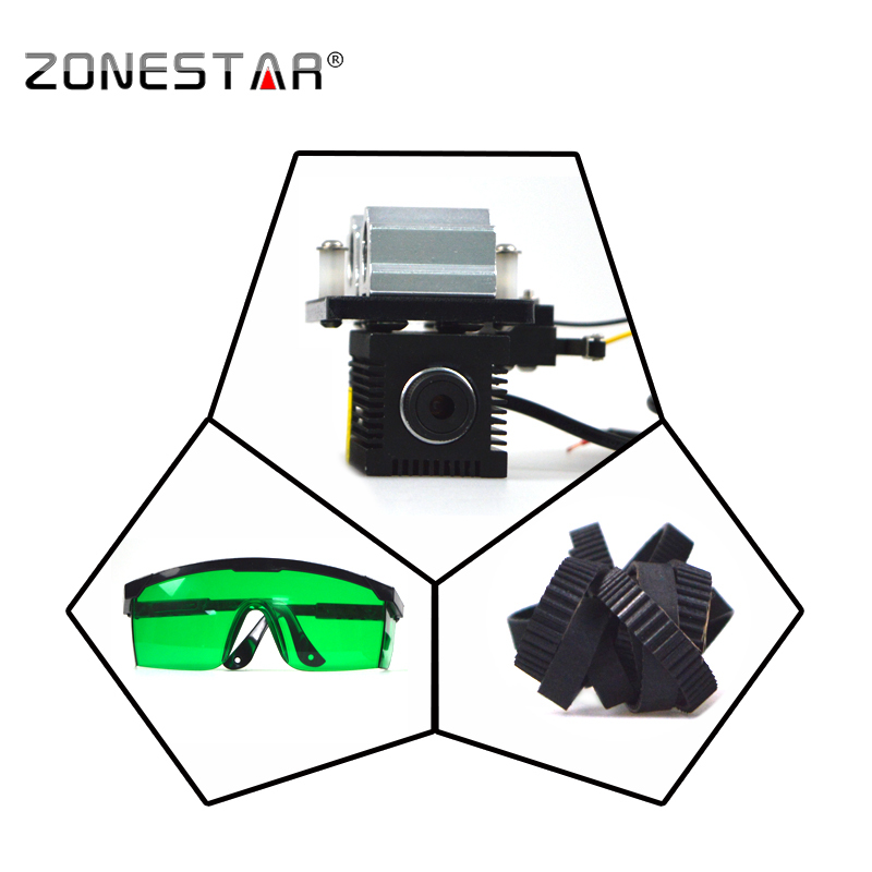 ZONESTA New Arrival Laser engraver cutting marking upgrade DIY kit for zonestar P802 D805 D806 Z5 Z8 3D printer