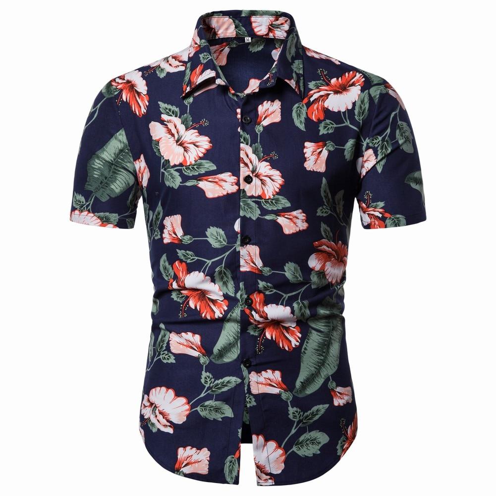 Pandapang Mens Short Sleeve Destroyed Summer O-Neck Pullover Tops T-Shirt