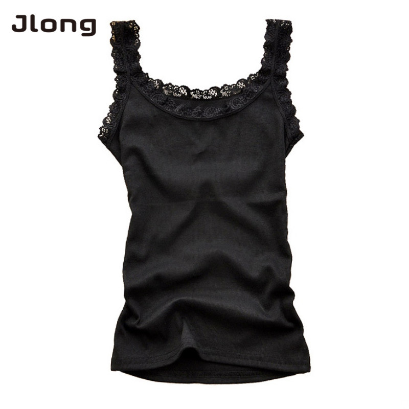 Women Girls Sexy Lace Tank Tops Sleeveless Bodycon Temperament T-shirt Vest Fashion Camisole Top Female Floral Solid Homewear
