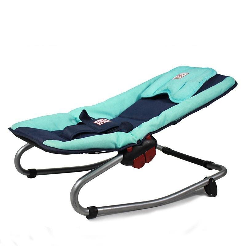 Approprié et sûr bébé videurs mignons infantile apaiser chaise berçante Bebe chaises trois points ceintures de sécurité livraison directe gratuite - 3