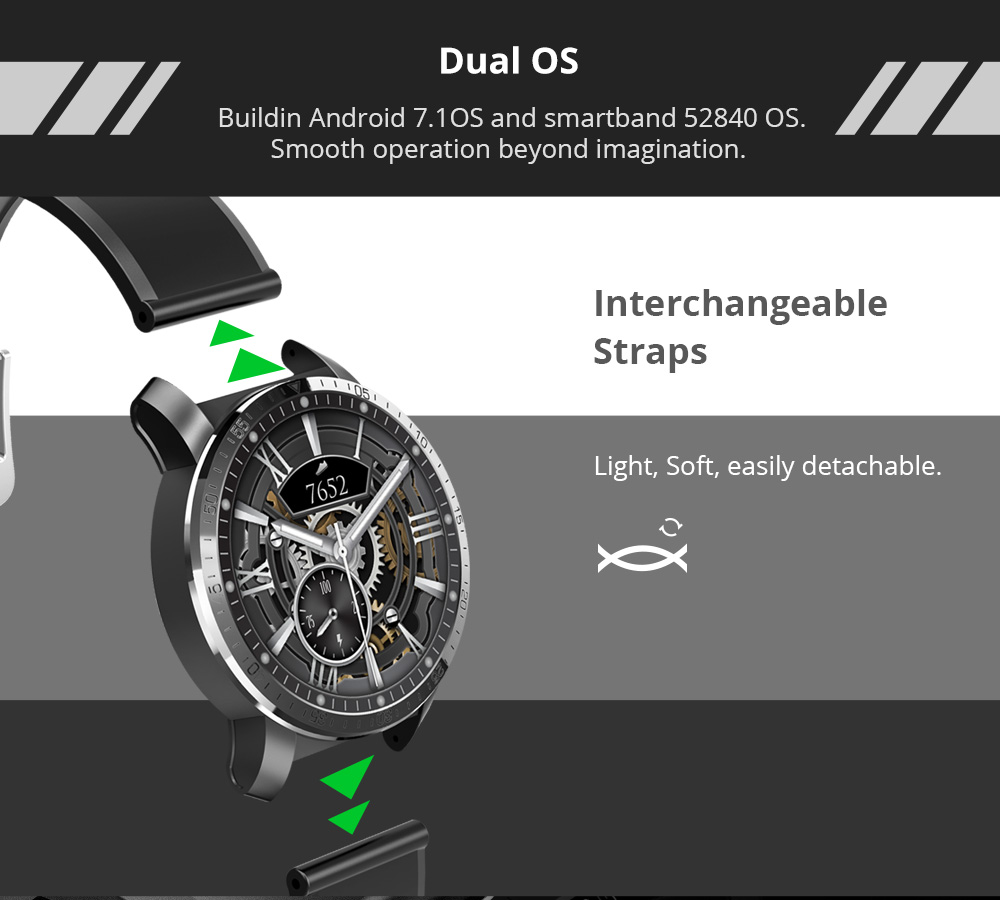 Makibes M3 4G Smart Watch 13