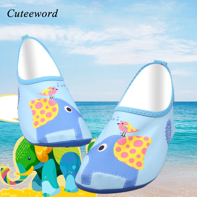 c2f9b775f40a Boys surf socks water shoes swim diving outdoor sports barefoot snorkeling beach  shoes girls animal warm comfortable house shoes