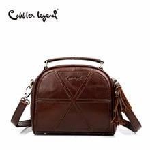 Cobbler Legend Tassen Women Messenger Bags Female Genuine Leather Totes Patchwork Designer Handbags Crossbody Bag Small