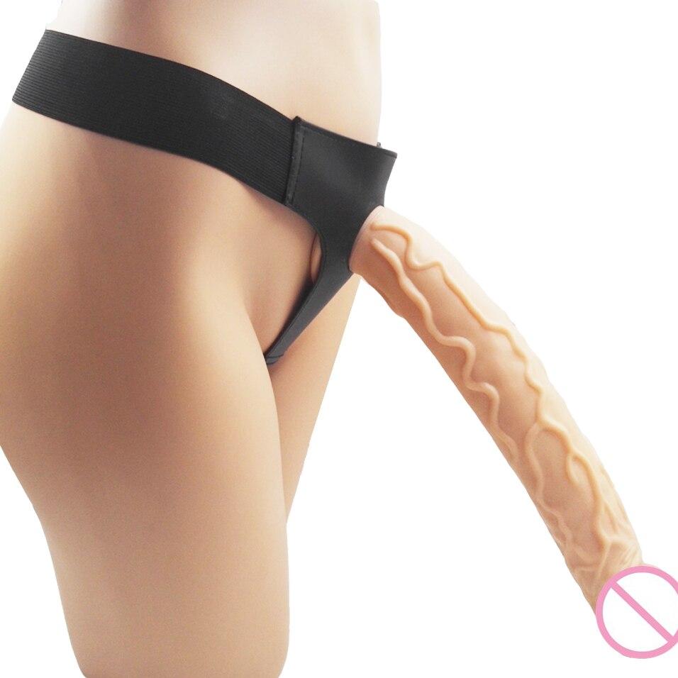 CamaTech Strapon ventouse godemiché avec harnais pour le sexe Anal lesbien extrême gros et Super énorme Long pénis sangle-on Ultra culotte