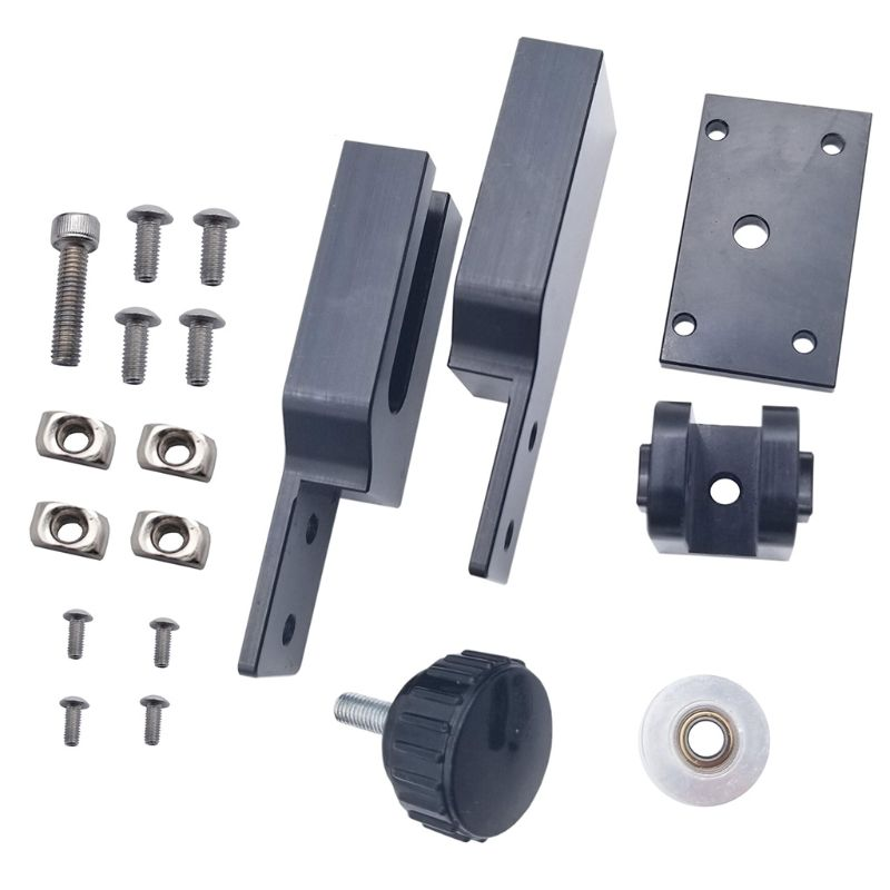 Aluminum Alloy CR10 X-Axis Tensioner kit For ANET E12 For Creality CR-10 3D Printer X/Y axis Tensioner Accessories  Aluminum Alloy CR10 X-Axis Tensioner kit For ANET E12 For Creality CR-10 3D Printer X/Y axis Tensioner Accessories