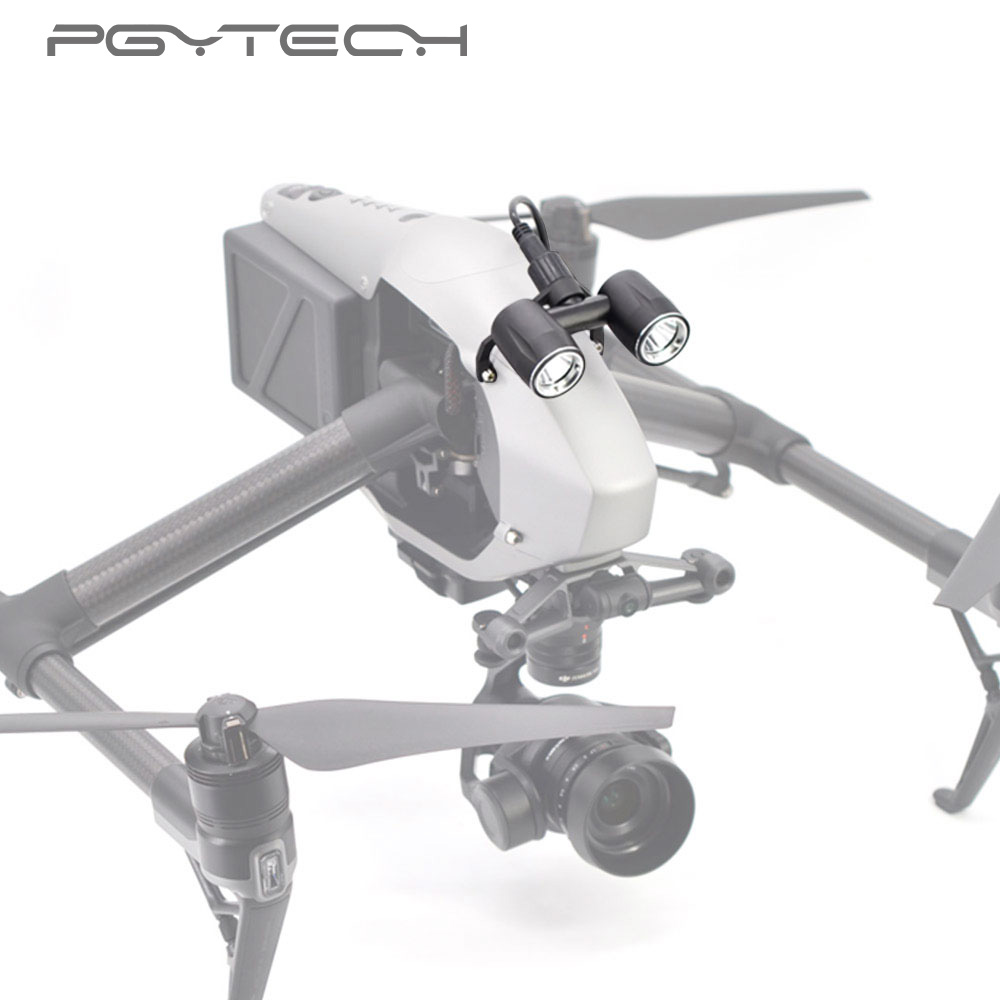 PGYTECH DJI Inspire 2 Accessories headlamp LED light for DJI Inspire 2 drone