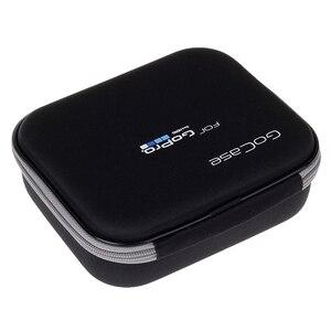 Image 4 - LBKAFA EVA Tragbare Handtasche Reise Lagerung Schutz Tasche Fall für GoPro Hero 9 8 7 6 5 4 SJCAM SJ4000 SJ6 YI Kamera Zubehör