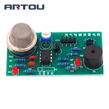 DIY Kit MQ5 Gas Detection Alarm Circuit Electronic Production Parts