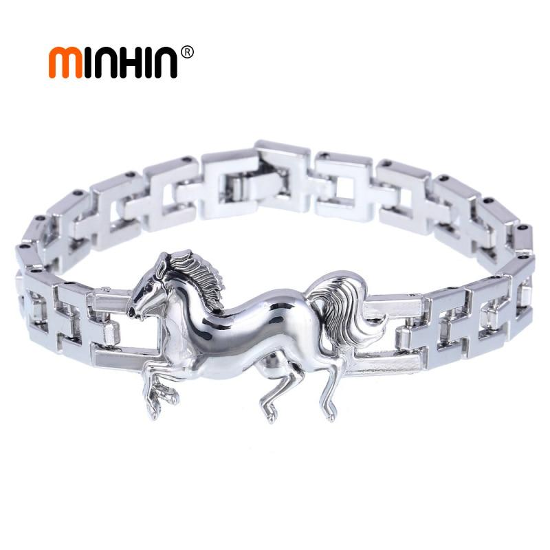 MINHIN Silver Wrist...