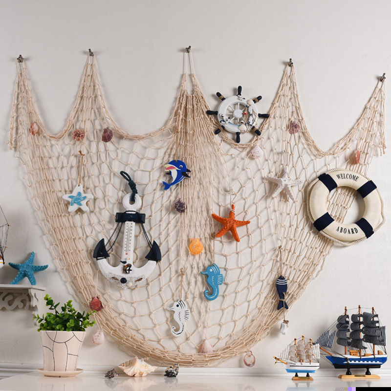 Home-Furnishing-jewelry-nets-Mediterranean-style-rope-nets-background-wall-wall-decoration-A-variety-of-specifications