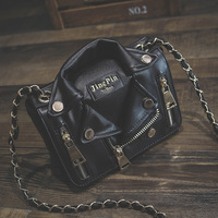 2017 Female Travel Handbags Individual Leather Bag Satchel Casual Messenger Women Bag Cool Girls Choose Jacket