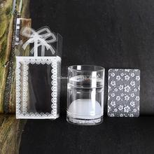 1PC 4cm Clear Jelly Nail Stamper+Scraper,Silicone Stamping Head with A Lid+Big Scraper for DIY Plates Images