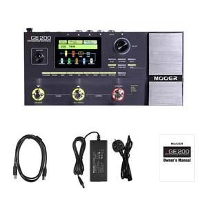 Image 4 - MOOER GE200 Amp моделирование и многофункциональные эффекты 55 высококачественных моделей усилителей аксессуары для педалей гитарных эффектов