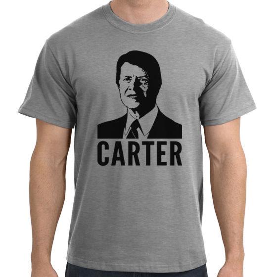Jimmy Carter Stencil T-Shirt - Mens Short, Long Sleeve, Womens, Youth, top