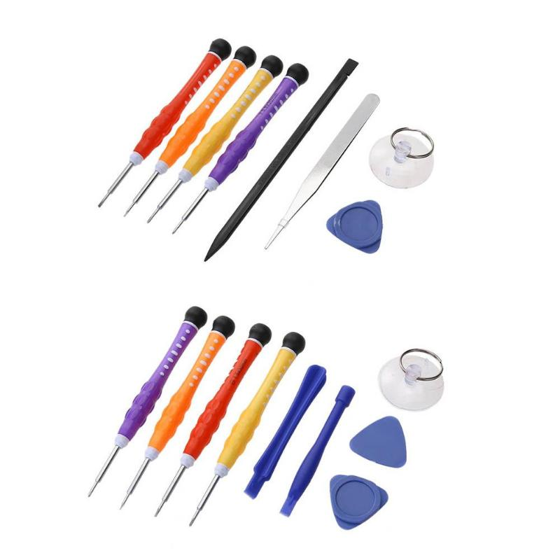 Professional Opening Pry Phones Repairing Tools Screwdrivers Tool Kit Hand Tools Set for iPhone iPad Samsung Cell Phone