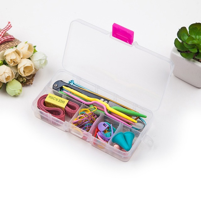 58pcs Home Use Detachable White CaseSewing Kit Household Tools Crochet Kit Drop Shipping