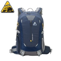 KIMLEE 40L Adult Sports Bag Travel Photography Mountaineering Backpack Walking Bag Light Weight Shoulder Bags + Rain Cover