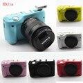 Alta qualidade silicone camera case capa bolsa para câmera canon eos m3 eosm3 em 6 cores, frete grátis