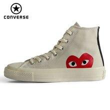 Зажимы 70 Converse Оригинальные кроссовки all star обувь 1970 s для мужчин и женщин унисекс Спортивная обувь высокие классические обувь для скейтбординга 150205C
