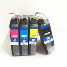 einkshop 1Set LC22U Compatible Ink Cartridge For Brother LC22UXL 22UXL DCP-J785DW MFC-J985DW Printer