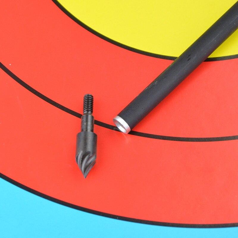 flecha pontos de campo parafuso na bala