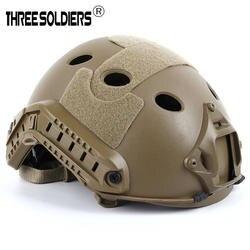 Тактический шлем крышка Casco страйкбол шлем аксессуары высокого качества Пейнтбол быстрая прыжка защитная маска для лица шлем