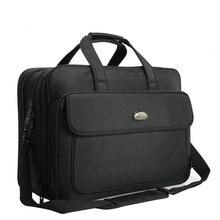Мужской портфель Элитный бренд Мужская Сумки Повседневная 17-дюймовый ноутбук сумка мульти-Функция большая дорожная сумка