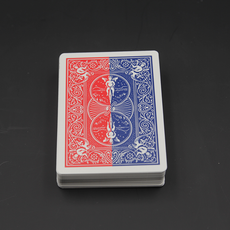 1 cubierta 52 tonos de rojo Shin Lim-Tarjeta trucos de magia especial cubierta naipes trucos de magia props truco close Up magia 81460