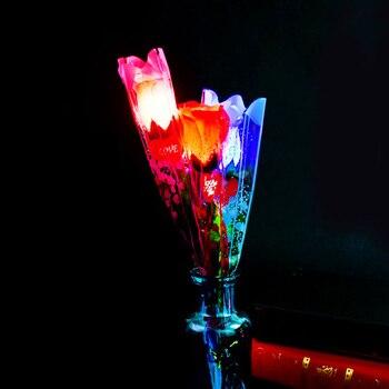 LED Light Up Decoration Valentines Mothers Day Fake Flower 1