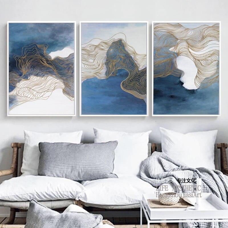 Современный новый китайский абстрактный чернила всплеск Краски ing Краски плакат Книги по искусству холст на стене изображения украшения до