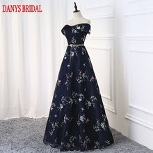 Navy Blue Long Evening Dresses Party A Line Beautiful Women Prom Elegant Formal Evening Gowns Dresses On Sale abendkleider