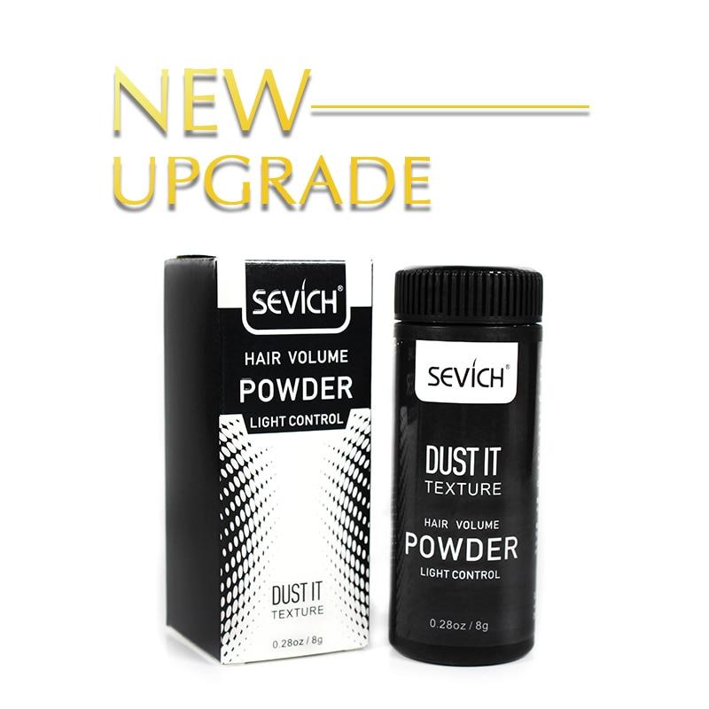 Sevich 8g Unisex Hairspray Best Dust It Hair Powder Mattifying Powder Finalize The Hair Design Styling Gel 5