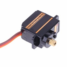 Mini Size Metal Gear Analog Servo ES08MA II for RC Motor Replacement Part Shockproof and stable performance