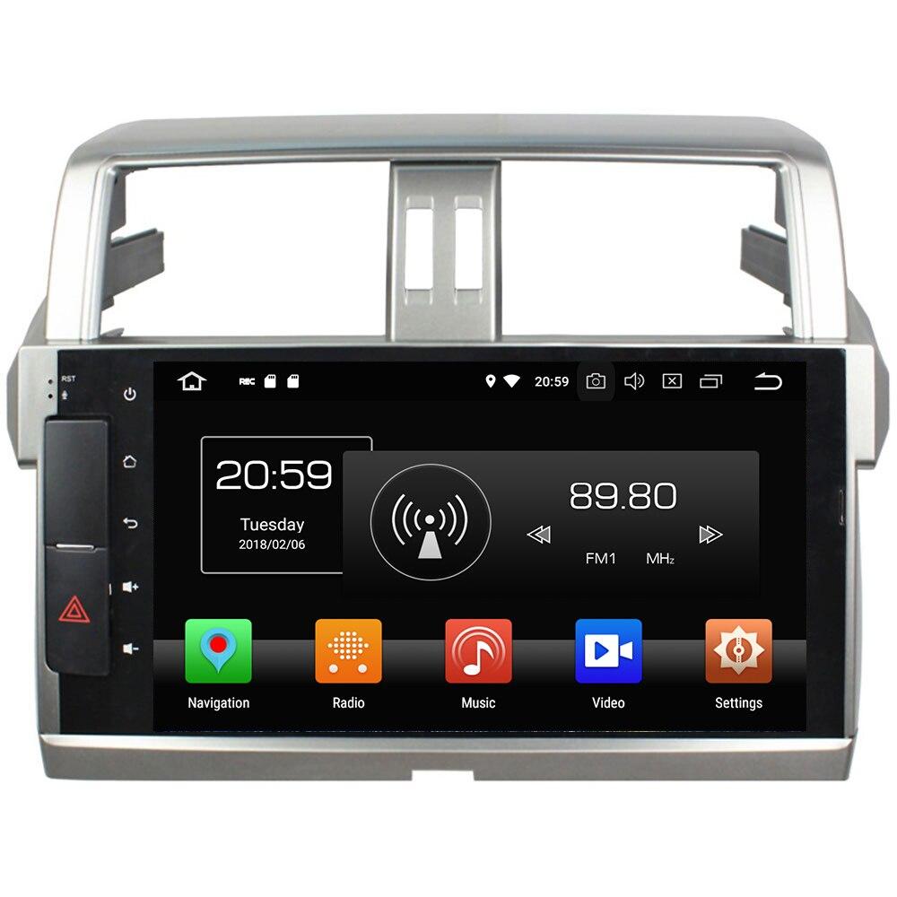 2 Din 10 1 Android 8 0 Octa Core 4GB RAM 32GB ROM GPS Navigation Bluetooth
