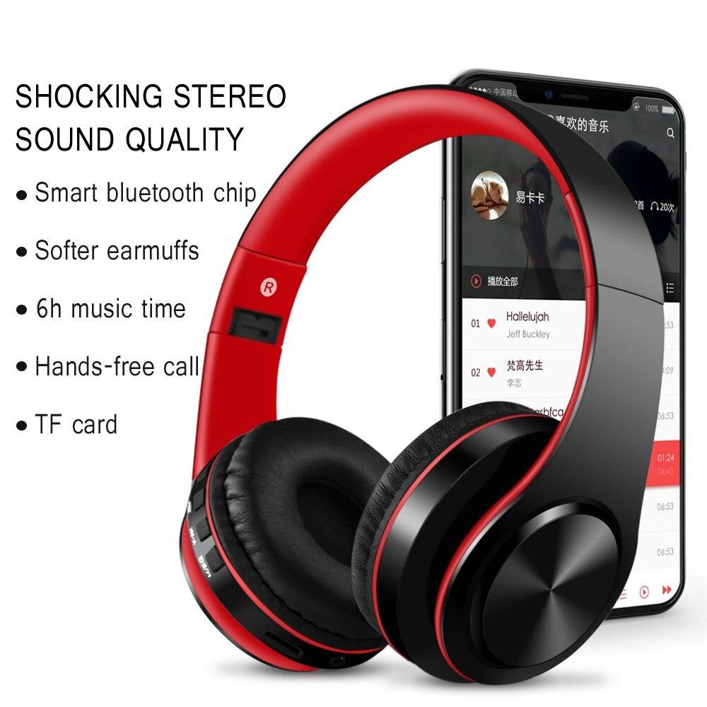 Acheter Hatosteped Sans Fil Casque Bluetooth écouteur écouteurs Avec