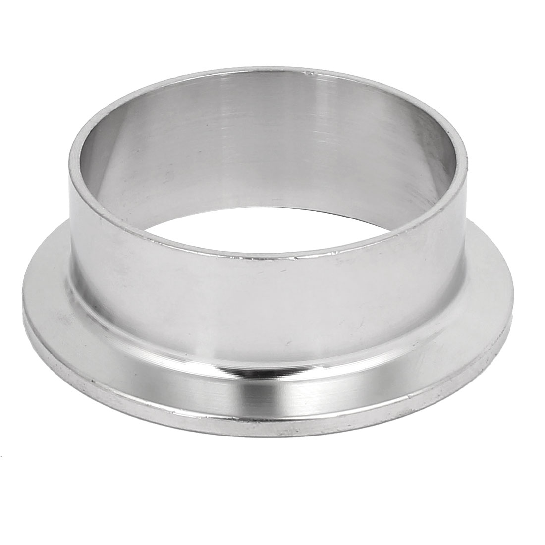304 Stainless Steel 51mm OD Sanitary Pipe Weld on Ferrule Fits 2 Tri Clamp free shipping 2 51mm sanitary tri clamp 3 way tee stainless steel 304 sanitary ferrule tee connector pipe fitting tri clamp