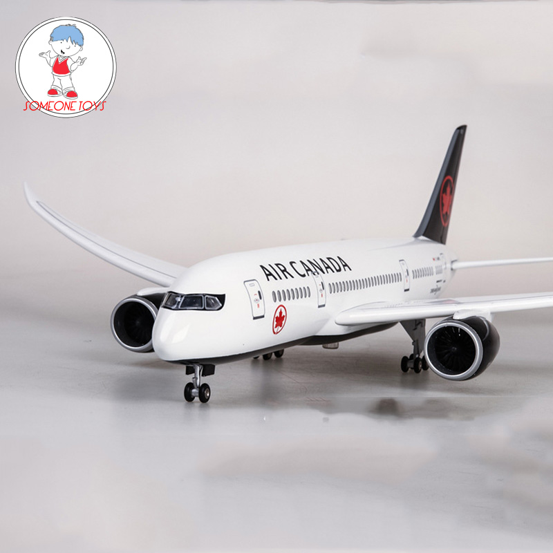 High Quality 1/130 Scale Airplane Boeing B787 Dreamliner Aircraft Canada Airlines Model Diecast Plane Model For Collection Gift