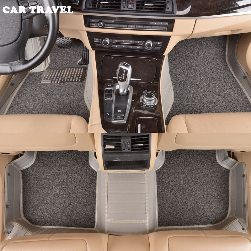 CAR TRAVEL Custom car floor mats for Mitsubishi All Models ASX Lancer SPORT EX Zinger FORTIS Outlander Grandis car styling for mitsubishi asx lancer 10 9 outlander pajero sport colt carisma canbus l200 w5w t10 5630 smd car led clearance parking light