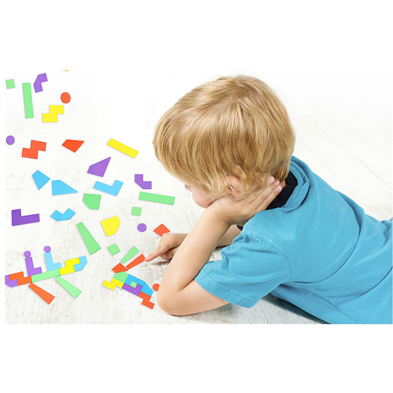 Wooden Montessori Jigsaw Puzzle Games Shape Cognitive Puzzle Educational Toys Developmental Baby Toy Child Early Training Game
