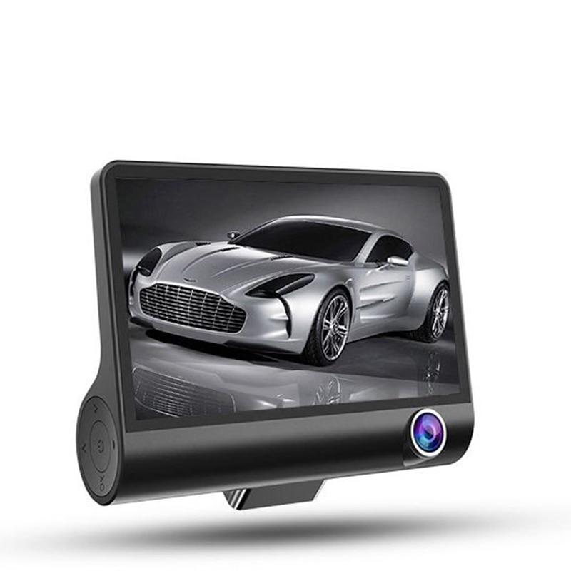 Автомобильный видеорегистратор с 3 объективами для камеры 4,0 дюймов, спринт, камера с двумя объективами, камера заднего вида, рекордер с авто