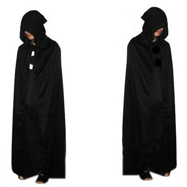 death cloak cosplay ghost clothes multi cape hooded cloaks halloween costume for adult costumes vampire cape - Halloween Costumes With A Cape