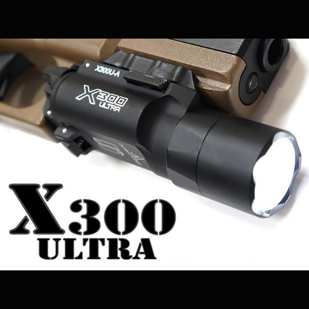 Tactical X300U-A Pistol Light LED White Light Super Bright Flashlight