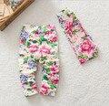 2015 новая девочка брюки хлопка гетры узкие дети цветов брюки малыша дети одежда оптовая продажа 80 - 90 - 95 3
