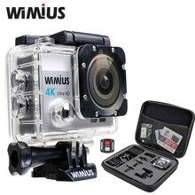 Wimius 4K wifi Action Camera Ultra HD 1080P 60pfs Sports Mini Video zoom Cam Go Waterproof 40M pro +2.4G Wireless Remote Control