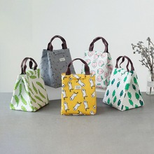 2019 Fresh Insulated Women Lunch Bag Thermal Fashion Portable Tote Cooler For Female Kids Food Picnic Organizer